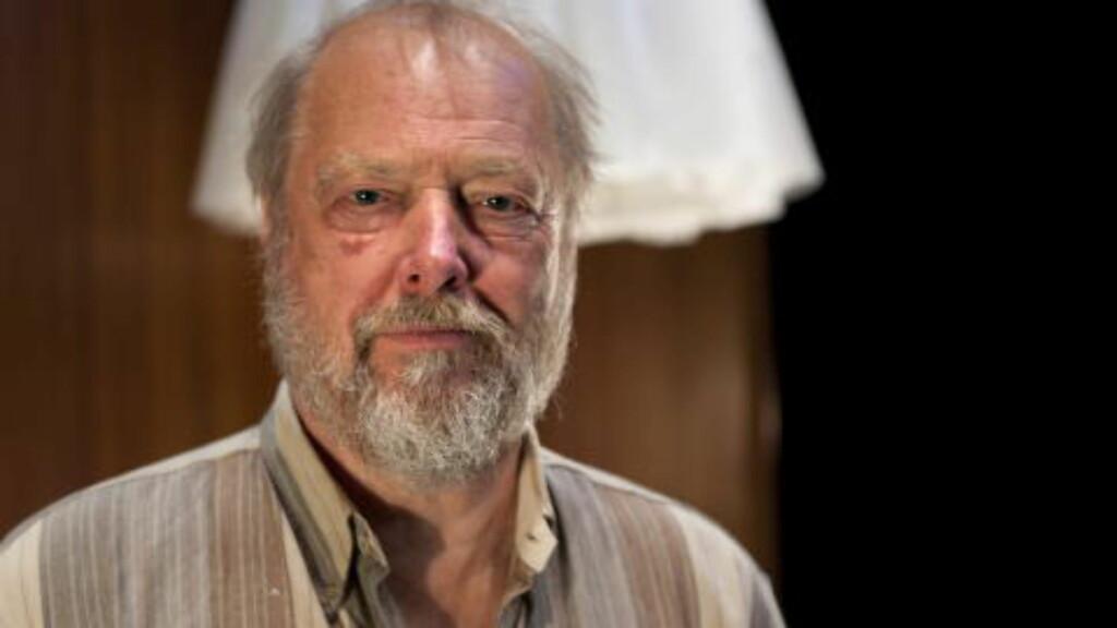 VENNER: Stein Winge og Bill Pullman har vært venner i snart 30 år, og nå har Winge hentet vennen til Bergen. Foto: Anders Grønnberg