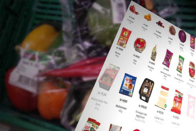 35e3c7a3 <b>NETTMAT:</b> Fire forskjellige nettbutikker tilbyr dagligvarer, men