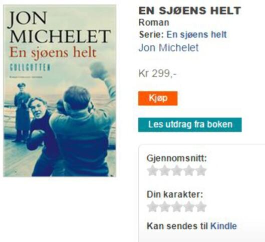 <strong><b>KAN SENDES:</strong></b> Mange norske e-bøker kan nå sendes direkte til din Kindle. Foto: DIGITALBOK.NO