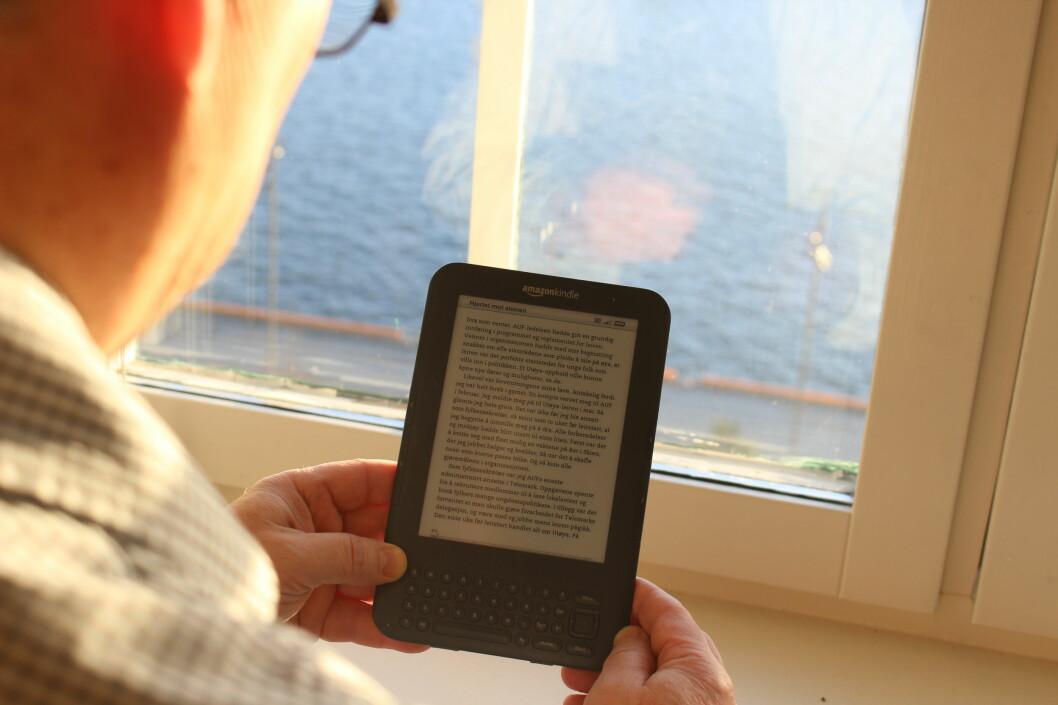 <b>FEIL BOKHANDEL?</b> Det er håp for deg som vil lese norske bøker på Amazons Kindle-lesebrett. Foto: KAROLINE BRUBÆK
