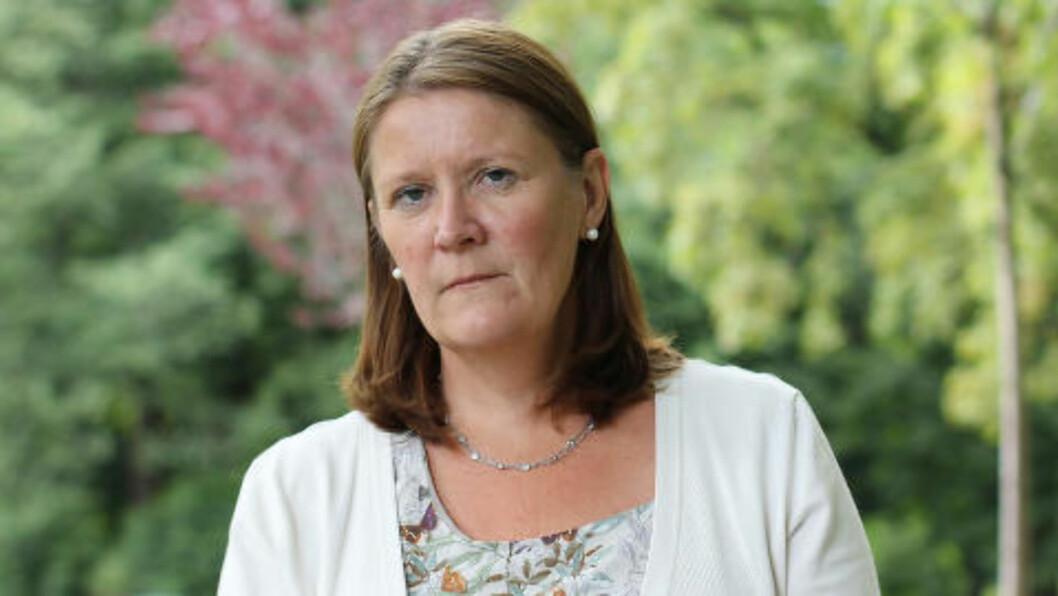 SVARER: Avdelingsdirektør Anne-Mette Gulaker i NPE. Foto: NPE