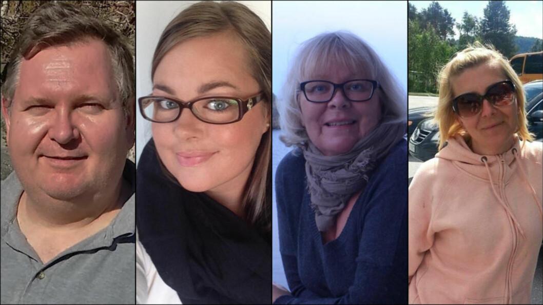 ME-SYKE: Grunnlegger Morten Thomassen (t.v) har til nå samlet 154 medlemmer i Facebook-gruppa  «ME som senskade etter svineinfluensavaksinen». ME-ofrene føler ikke at de blir tatt på alvor. Foto: Privat