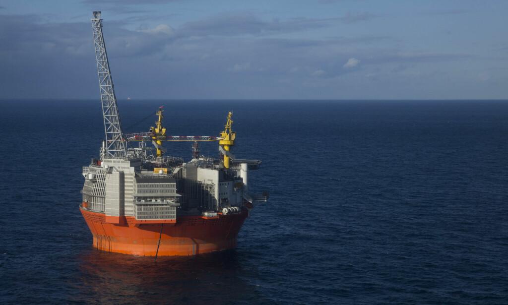 VET IKKE: Oljeministeren vet ikke når Norge vil tjene penger på oljeutvinning fra Goliat-fetltet. Foto: Jan-Morten Bjørnbakk / NTB scanpix