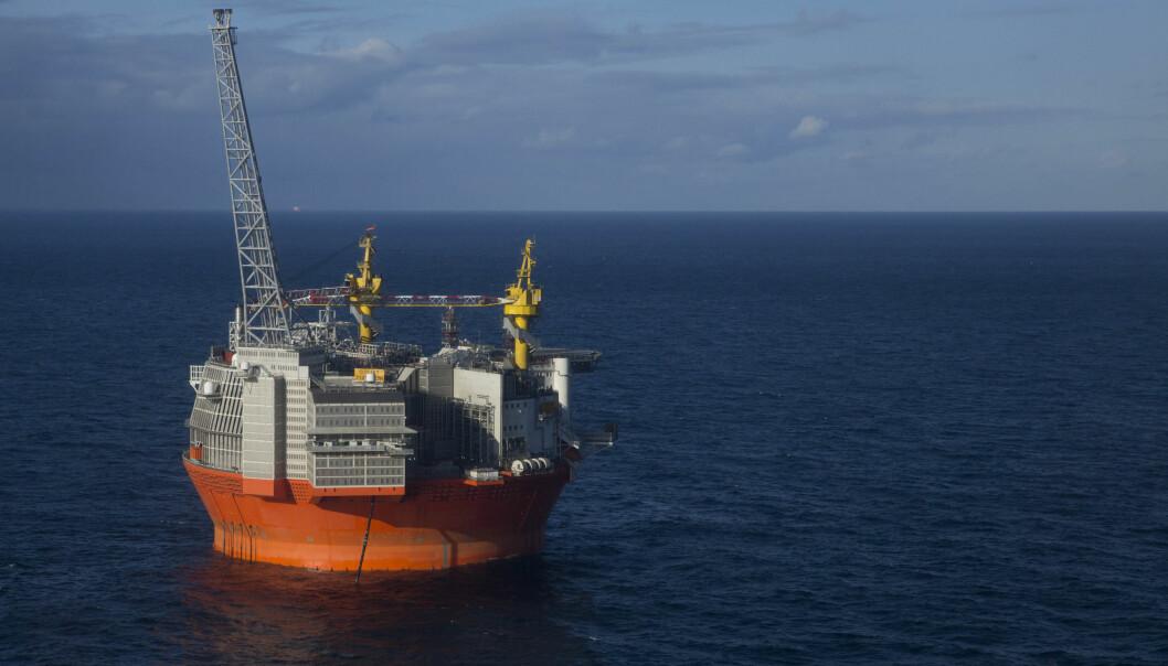 SVINDYR: Det har kostet over 20 milliarder mer enn forventet å få Goliat-plattformen i drift. Foto: Jan-Morten Bjørnbakk / NTB scanpix