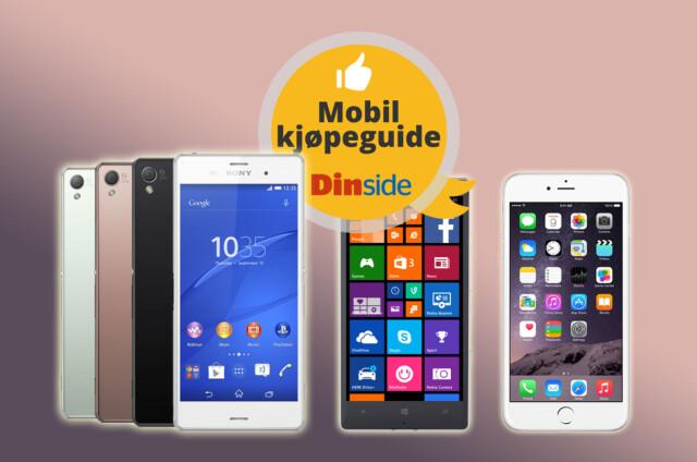 9b1148d6 <b>TRE PLATTFORMER:</b> Android, Windows Phone og iOS