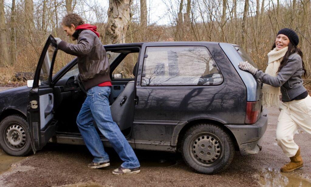 image: Risikabelt å selge bil