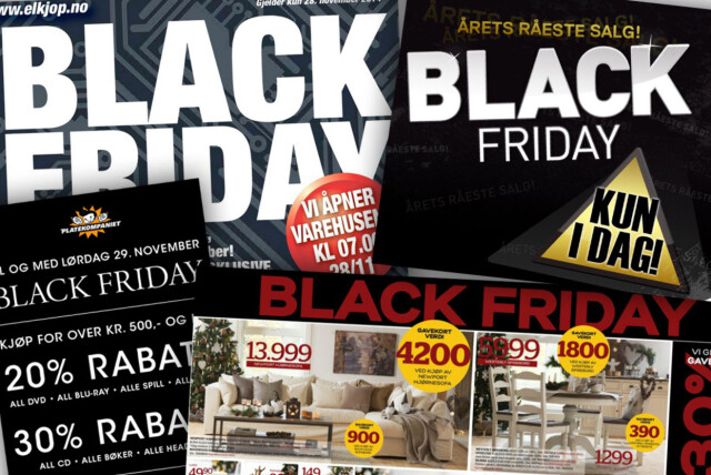 56cf7fed <b>STORE TYPER: </b>Black friday har for alvor fått