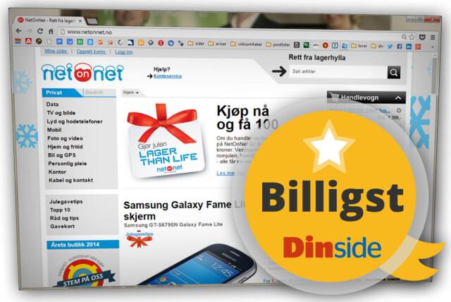 10197f58 Pristest: Billigste nettbutikk for elektronikk - DinSide