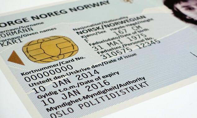 Slik blir det nye ID-kortet