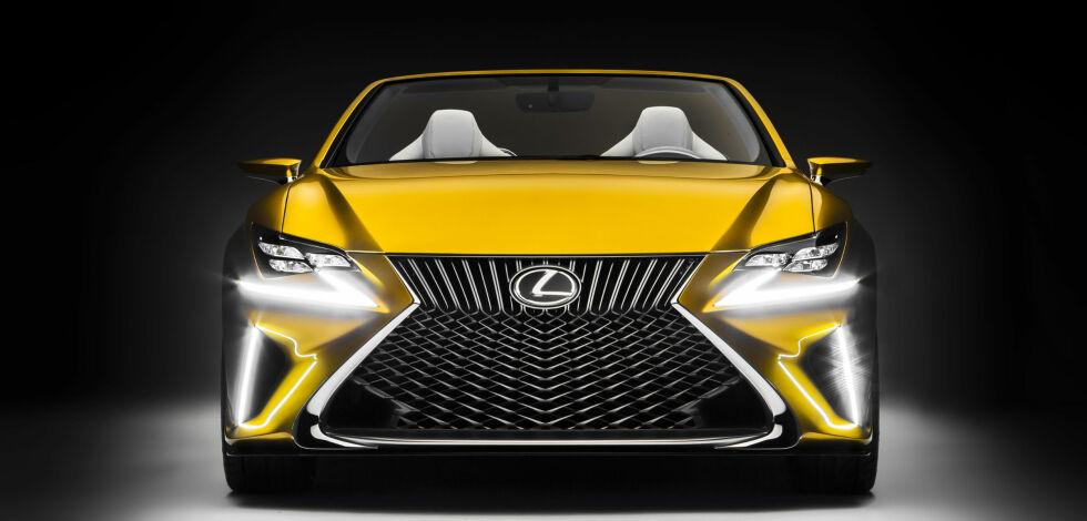 image: Vi har aldri sett maken til Lexus LF-C2