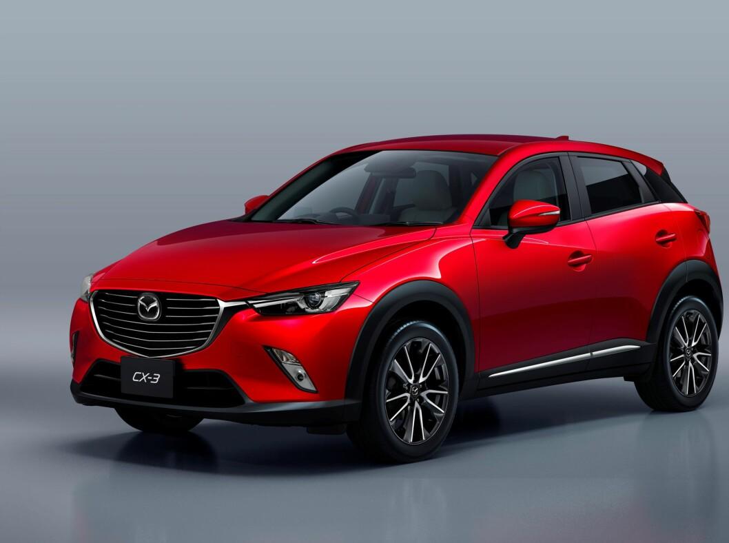 <strong>FORVENTNIGSFULLE:</strong> Både importør og Mazda-forhandlerne har stor tro på nykommeren. Foto: MAZDA