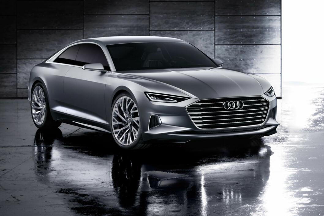 <strong><b>FORNYELSE:</strong></b> OK, grunntemaet i Audi-designen er fortsatt i store trekk det samme, men dette er likevel nye designtakter fra en til nå svært konservativ premium-produsent. Gjenstår å se om det kommer også i serieproduksjon... Foto: AUDI