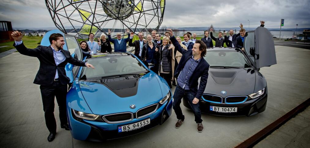 Folkets favoritt er BMW i8