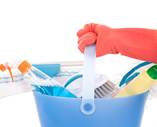 Enklere å betale vaskehjelpen hvitt