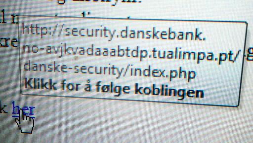 Phishing: Falsk spørreundersøkelse fra Danske Bank - DinSide