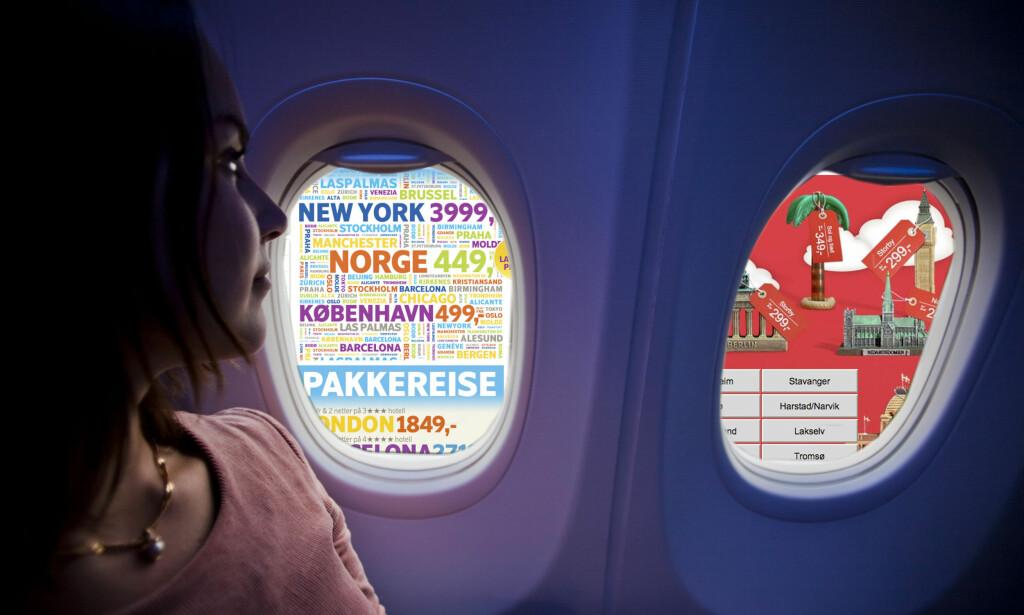 image: - Ikke kjøp flybilletten på en mandag