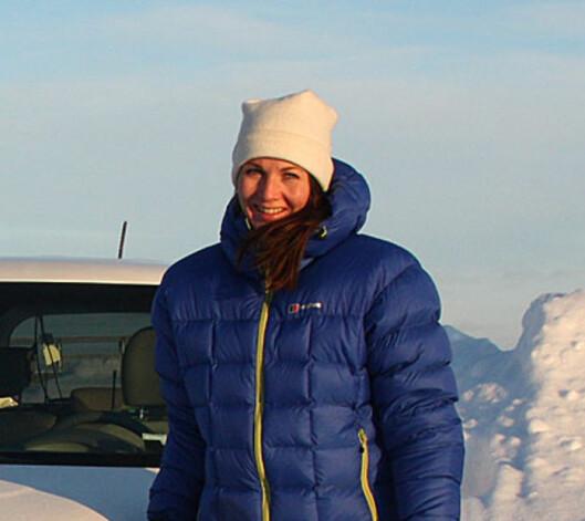 <strong><b>HENTET HJELP FRA KOREA:</strong></b> Mette Simonsen Sauge er kommunikasjonsansvarlig hos Kia Motors Norge. Foto: KNUT MOBERG