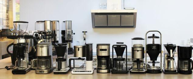 Vi har testet ti kaffetraktere