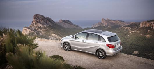 Fornyet og smart Mercedes-Benz B-klasse prøvekjørt