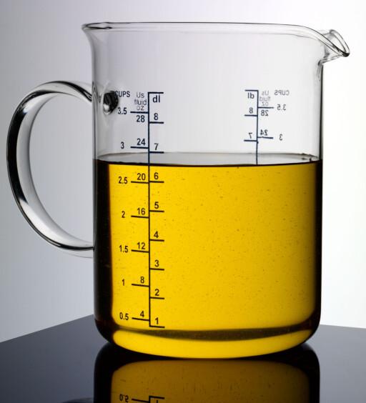 1 liter vann veier
