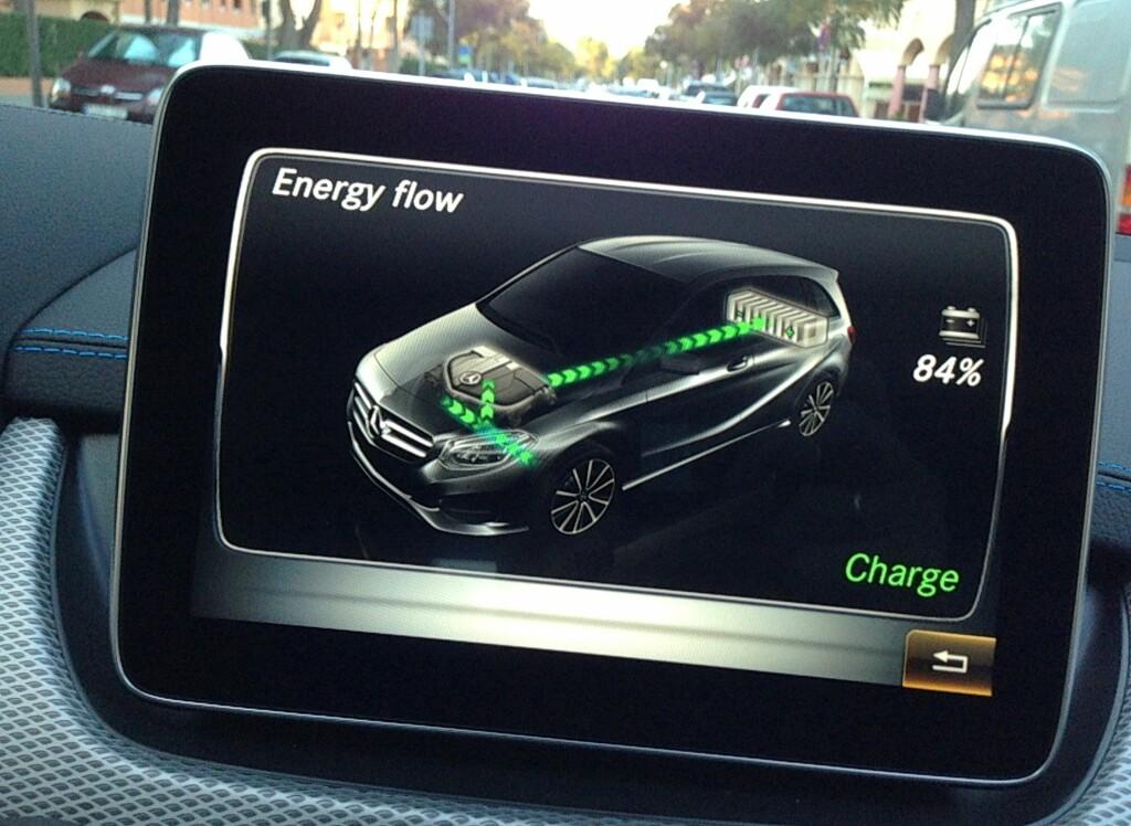 ENERGIFLYT: Informasjonssystemet er rimelig komplett og tydelig, men vi syntes det var litt plundrete i bruk. Vi savnet også en samlet oversikt over bruksdata samlet på ett skjermbilde. Foto: KNUT MOBERG