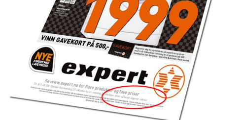 Har du blitt forvirret av Experts kampanje?