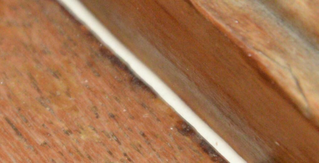 НЕ ДОСТИГАТЬ: Уплотнительные ленты должны хорошо заполняться, но не закрывать окно. Фотография: BRYNJULF BLIX