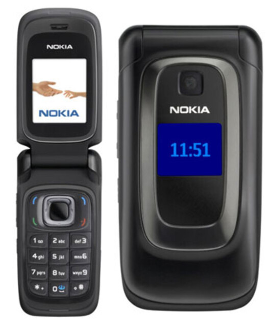 <strong><b>NOKIA 6085:</strong></b> En flipptelefon lansert i 2006.  Foto: NOKIA