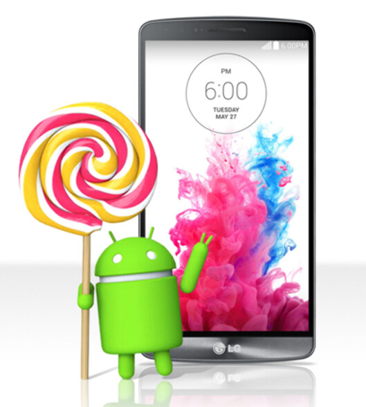 <b>FØRST UT?</b> LG G3-brukere ser ut til å bli de første som får Android 5.0-oppdateringen. Brukere i Polen vil i løpet av kort tid kunne oppdatere sine telefoner, melder selskapet i en pressemelding.  Foto: LG