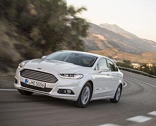 image: Nye Ford Mondeo kommer også som hybrid