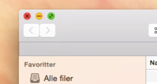<strong><b>NÅ:</strong></b> Slik ser knappene ut i den nye versjonen. Legg merke til at symbolet i den grønne knappen er annerledes. Foto: KIRSTI ØSTVANG