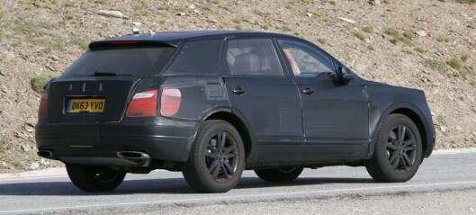Bentley SUV: Nei, ikke slik!