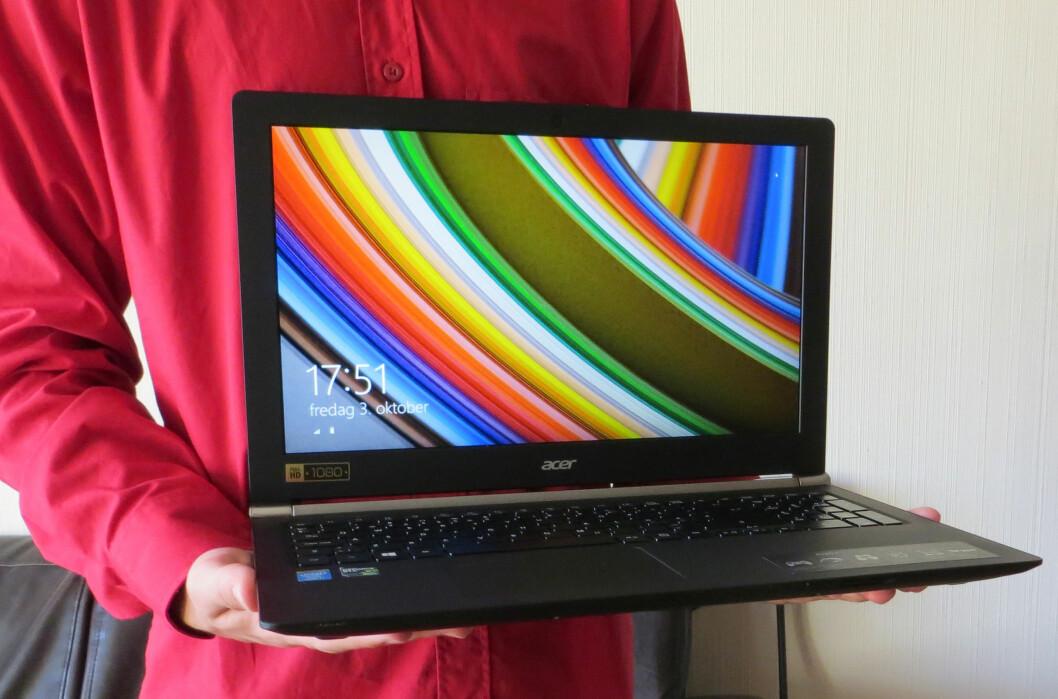 Med sine 2,4 kg er denne gaming-PC-en alt annet enn en tungvekter
