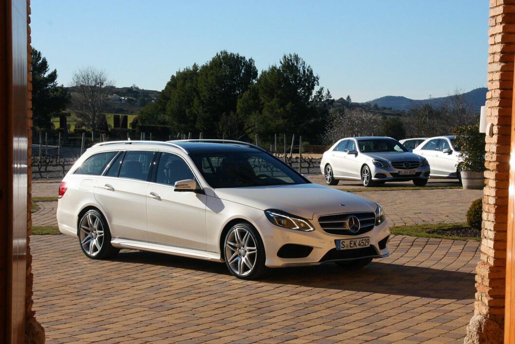 <strong><b>TREKK PÅ ALLE FIRE:</strong></b> Mercedes er lei av at kunder som vil ha firehjulstrekk velger andre merker. Foto: KNUT MOBERG