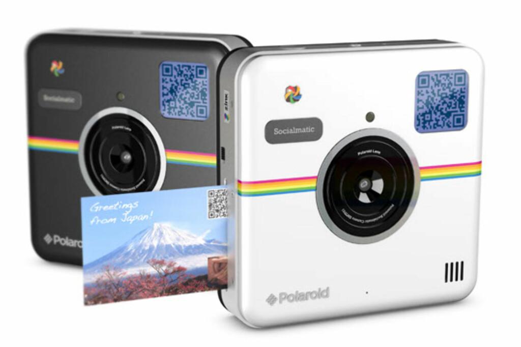 Polaroid kamera med innebygd skriver dinside - Beste polaroid kamera ...