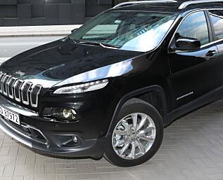 Jeep Cherokee 170 hk Limited utfordrer Volvo