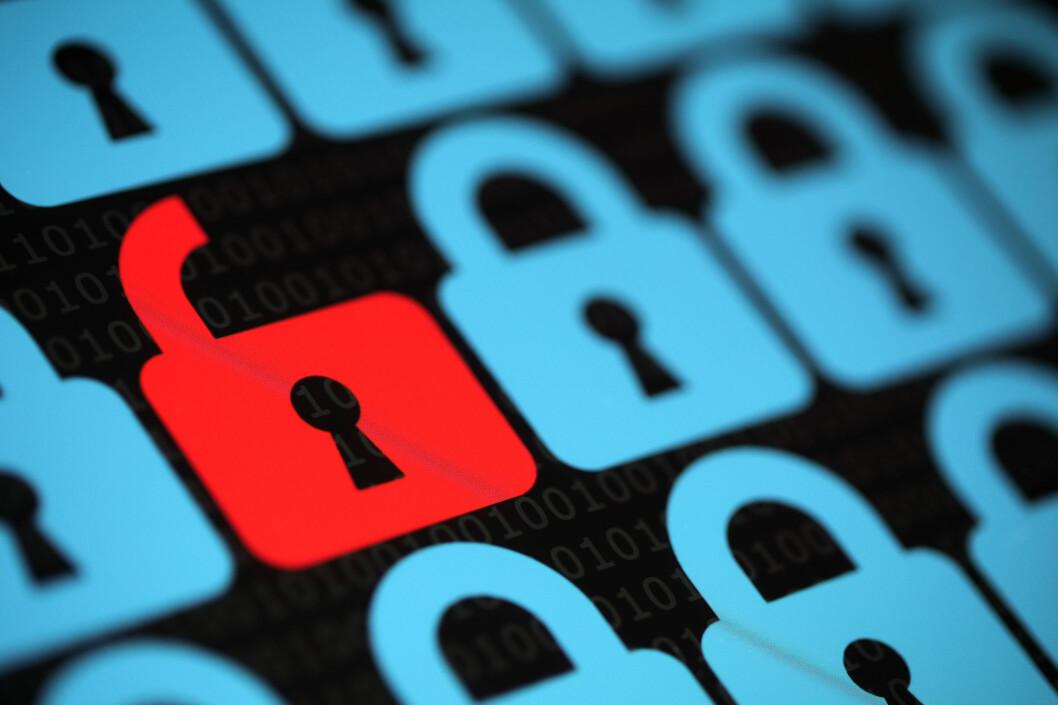 <strong><strong>LÅST:</strong></strong> Når filene dine er kryptert, får du dem ikke tilbake med mindre du har nøkkelen som trengs for å låse opp. Foto: ALL OVER PRESS