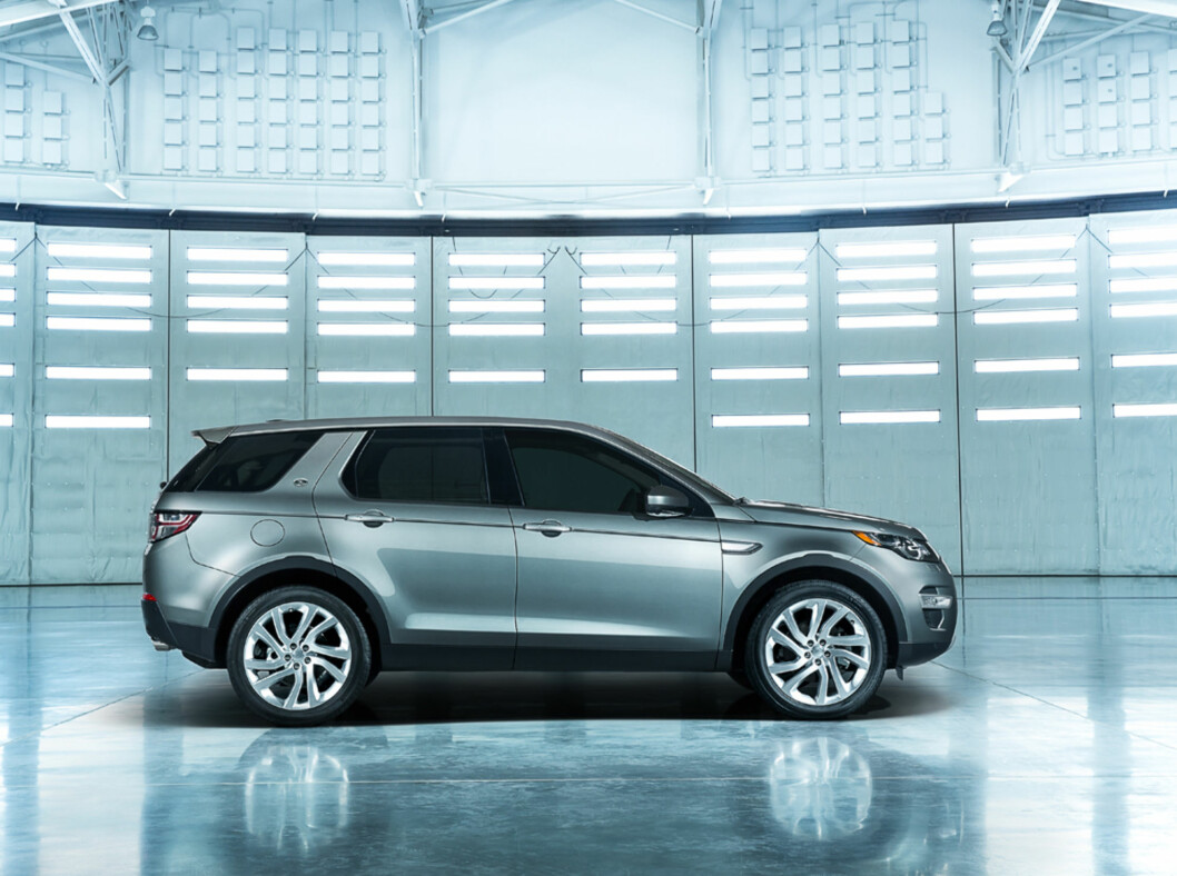 <strong><b>Land Rover Discovery Sport:</strong></b>Arvtakeren etter Freelander har fått nytt navn for ikke å belemres med gamle rykter.  Foto: LAND ROVER
