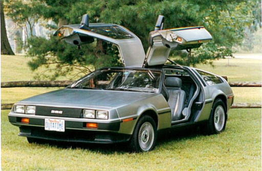 SJELDEN? Hele tre slike DeLorean er blitt førstegangsregistrert her i landet i år...