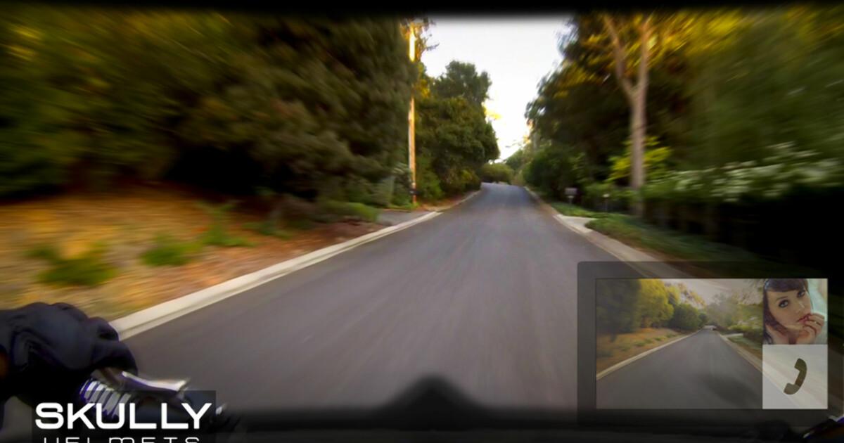 7f4c627c5 Verdens smarteste motorsykkelhjelm - DinSide