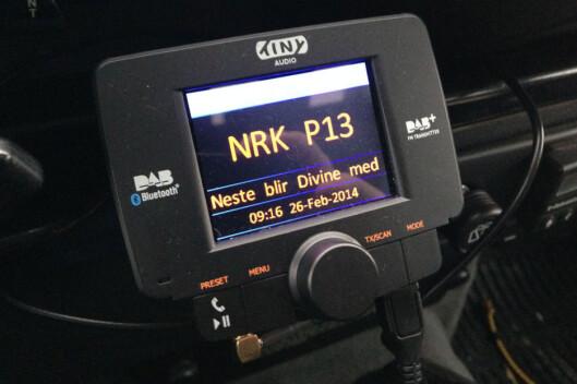 <strong><b>VELG PLUSS:</strong> </b>Husk at radioen må være av DAB+-typen for å ta i mot alle kanaler. Helst bør den ha FM også, slik at du kan fortsette å høre radio i tuneller. Foto: Øyvind Paulsen