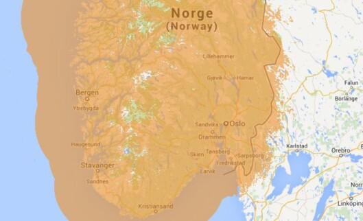 <strong><b>GOD DEKNING:</strong> </b>Dekningen i sør-Norge er nå så godt som 100 prosent. I høst blir det 95,5 prosents dekning, befolkningsmessig, over hele landet. Foto: Radio.no