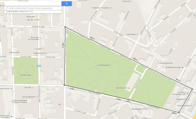 Kart Mal Avstanden Pa Google Maps Dinside