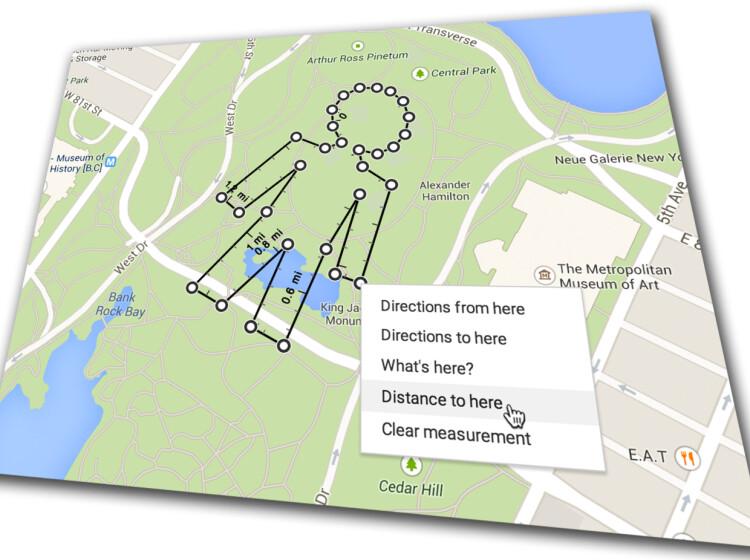 kart måle avstand Kart: Mål avstanden på Google Maps   DinSide kart måle avstand