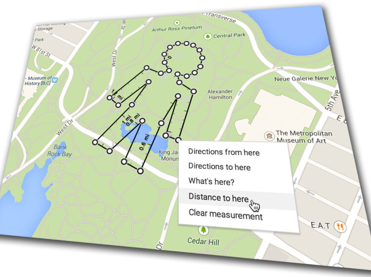 mål avstand på kart Kart: Mål avstanden på Google Maps   DinSide mål avstand på kart