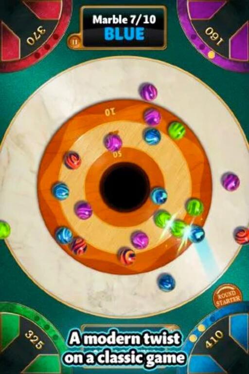 KLINKIS: Opp til fire kan spille Marble Mixer på én enhet.