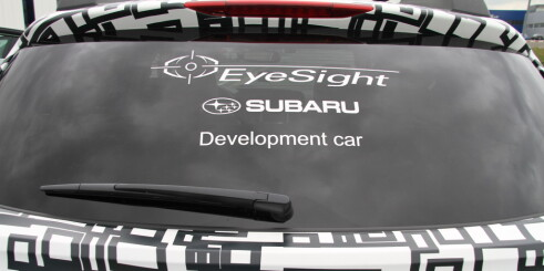 Subaru EyeSight, en venn i nøden