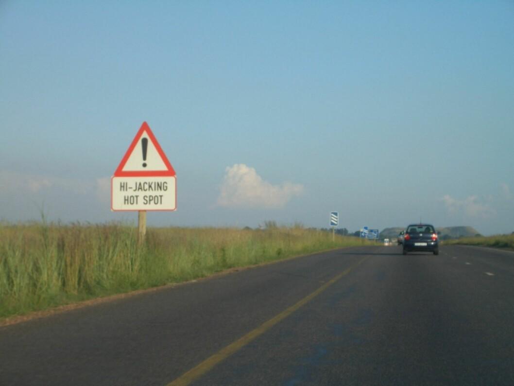 <strong><b>BRUK FORNUFT:</strong></b>Vær oppmerksom dersom du skal på bilferie i utlandet i sommer. Det er nemlig høysesong for landeveisrøveri. Foto: Wikimedia commons