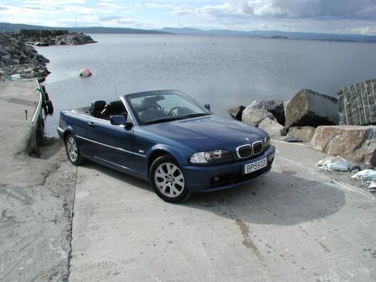 <strong><b>SOBERT:</strong></b> BMW 3-serie er en klassiker som aldri vil gå av moten. Foto: JOGRIM AABAKKEN