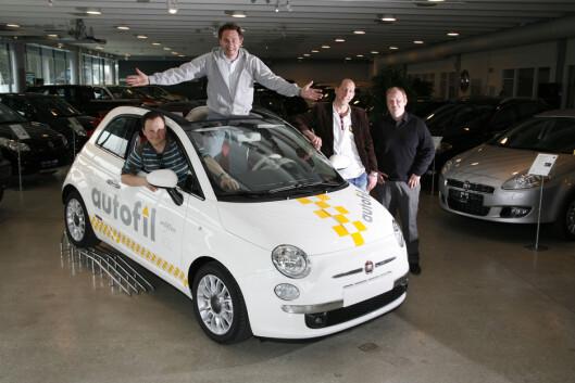 <strong><b>FIAT 500:</strong></b> Du får en nesten ny bil for 100.000.  Foto: AUTOFIL
